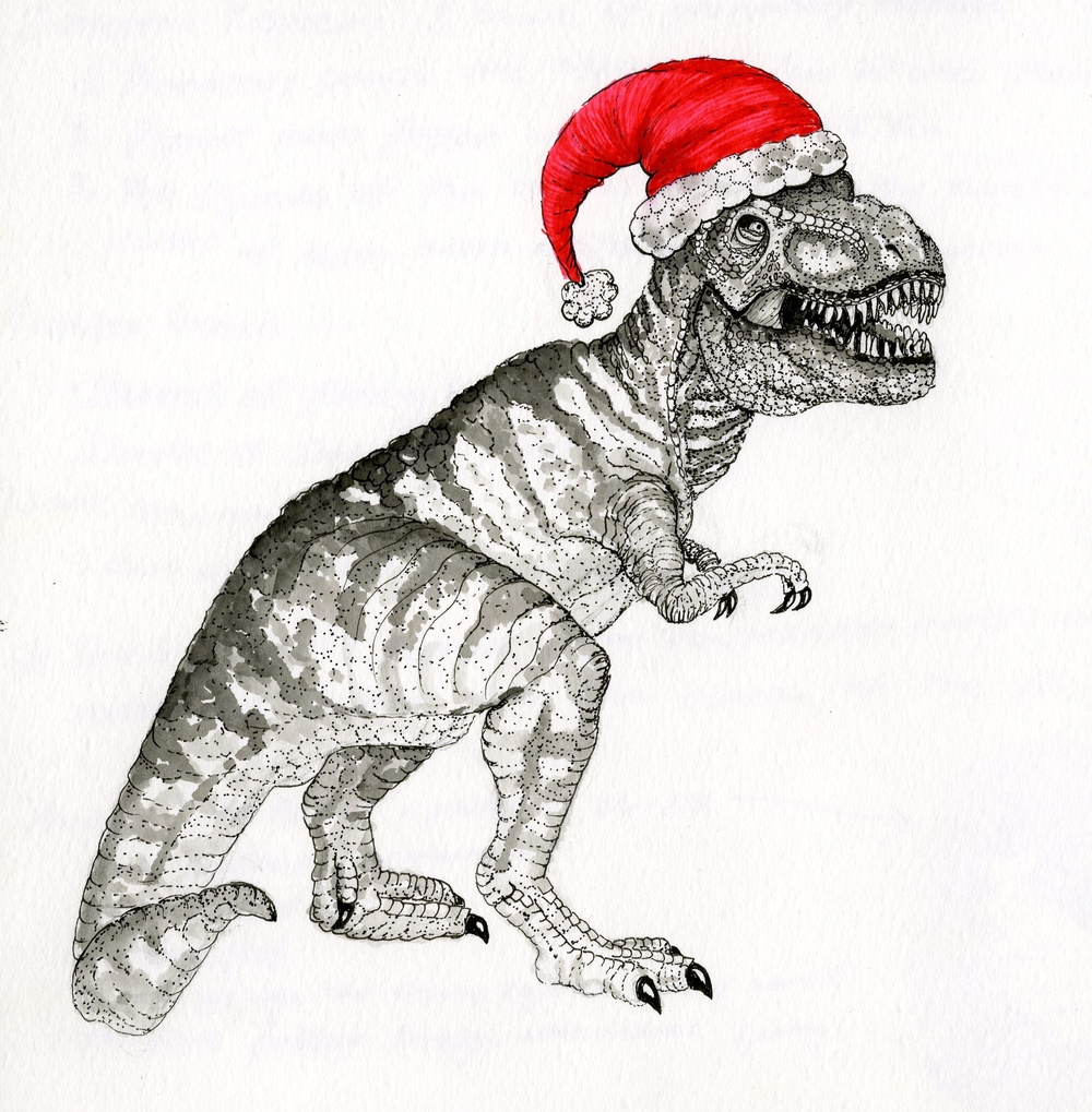 Santa T Rex