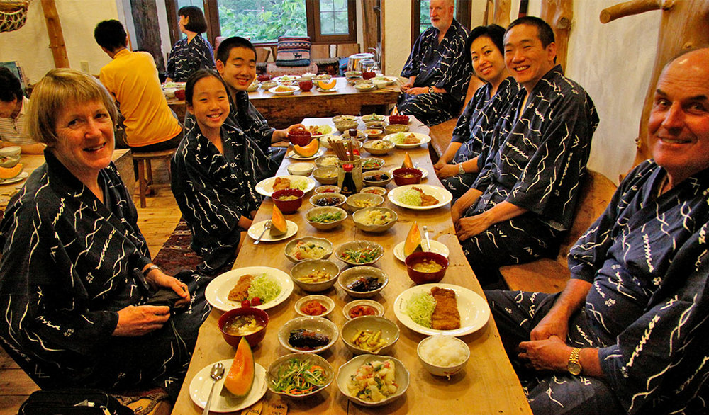 Japanese Inn accommodation and Food