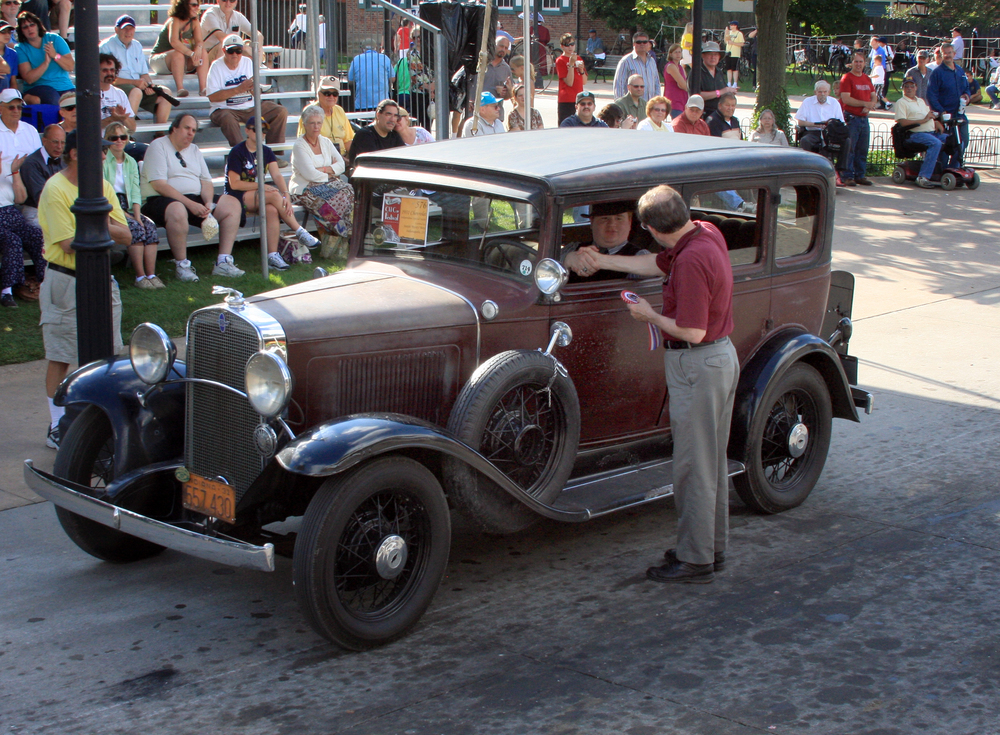Maggie: The 2011 Old Car Festival Curator's Choice Award Winning 1931 Chevrolet Independence (Rusty)