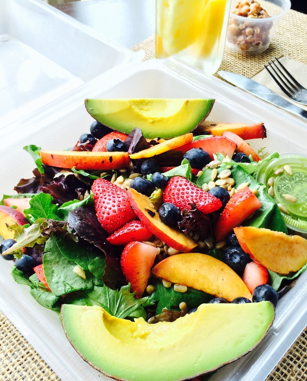 Summer Berry Energizer Salad