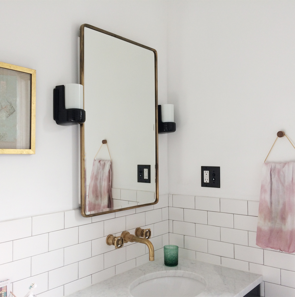 Bathroom renovation Flora Poste Studio