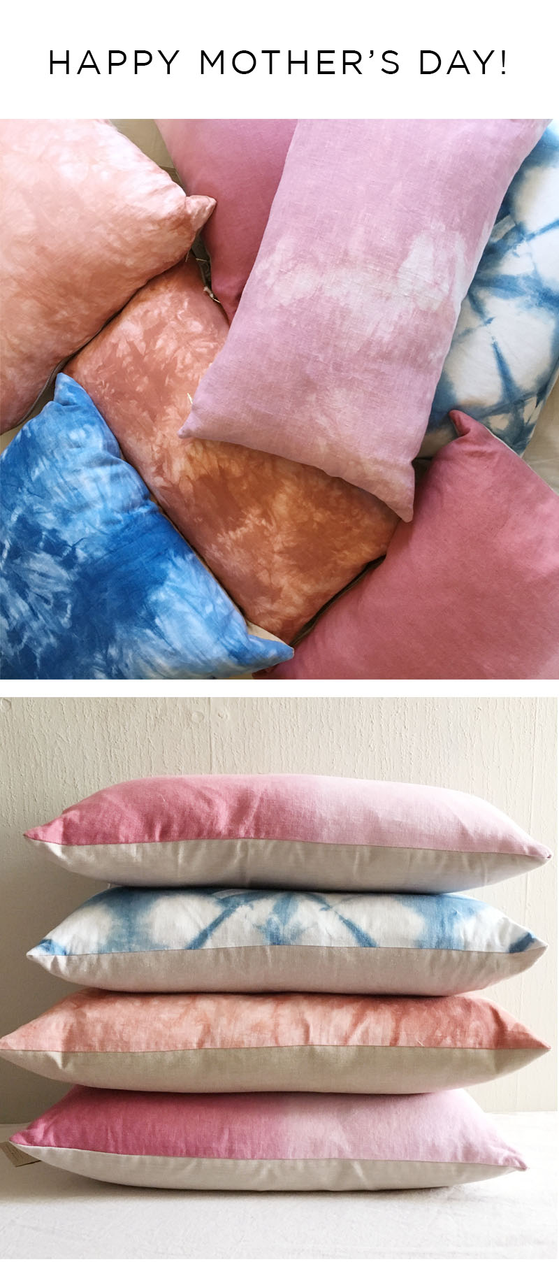 Mother's Day is coming!!  Take 20% off any order over $50 at  Flora Poste Studio  by entering the code MAMAME at checkout! Ends Sunday April 30 at midnight!   This is on top of our  pillows  which are already on sale! ONE  cotton velvet pillow  left in stock! And various colors and sizes of linen pillows.  Our  organic cotton gauze scarves  are another great Mother's Day gift,  made from GOTS-certified organic cotton gauze, sourced from a fair-trade, female owned and operated mill in India. Our  cocktail napkins  are made from an organic cotton broadcloth from the same mill.   And as always we have our best-selling  flour sack napkins  and  dishtowels  in a variety of colors.   Retailers, we are accepting applications for wholesale accounts!  Please  email me  for a line sheet!  Happy Spring! xo Kendra
