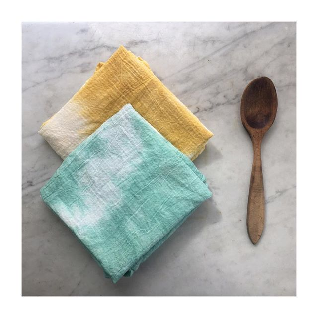 New dish towel 2 packs in sunny spring colors! Click to shop 🐣