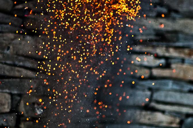 The Spirit of Fire & Stone    Bolinas, California