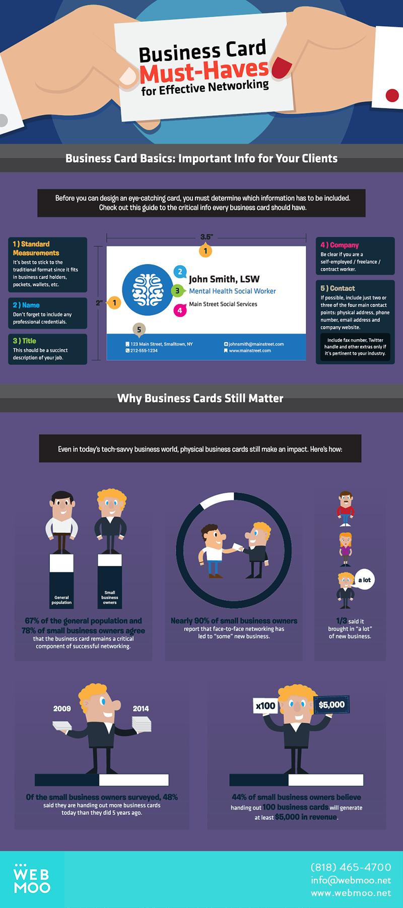 WEBMOO | Los Angeles Web Design Studio | Business Card Must-Haves ...