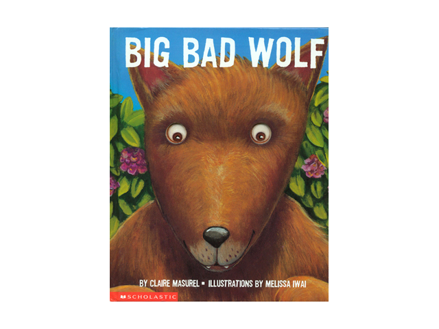 A Children's Book Council 2003 Children's Choice Book Scholastic 2000 ISBN-10:043928243 People say scary things about the wolf, but are they really true? This suspenseful story enables children to face their fears and conquer them again and again with each turn of the die-cut pages.