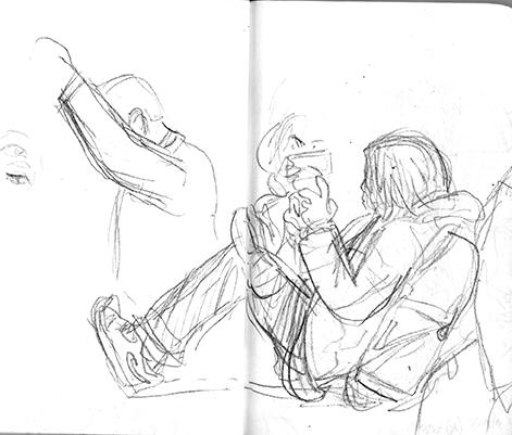 I'm always drawing Jamie.