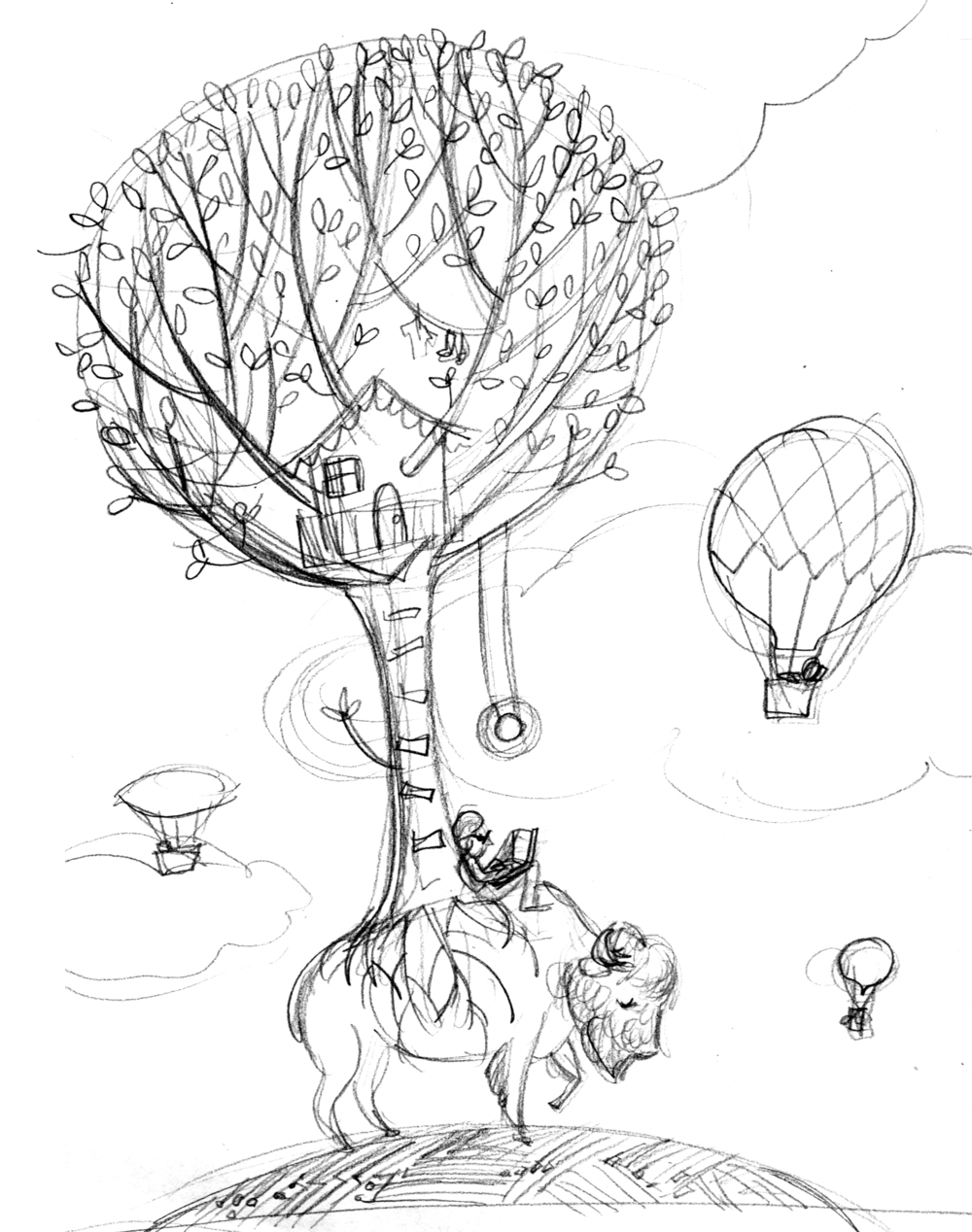 Melissa Iwai sketch 2015