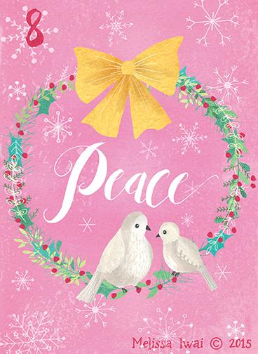 Melissa Iwai Peace 2015