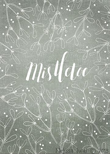 Mistletoe Melissa Iwai 2015