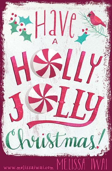 Holly Jolly Melissa Iwai 2015