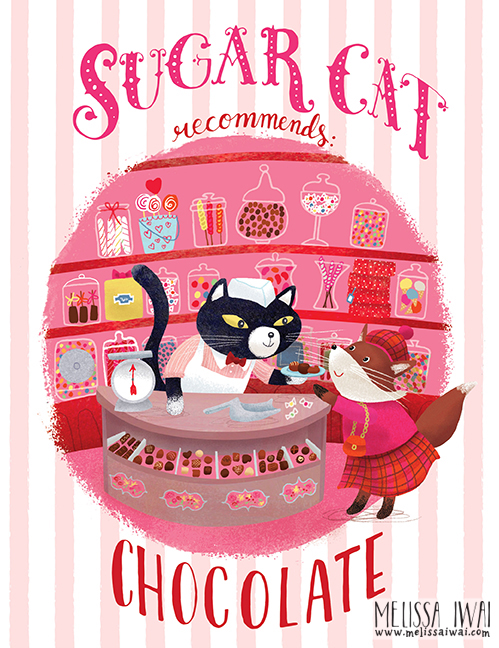 Sugar Cat by Melissa Iwai 2016