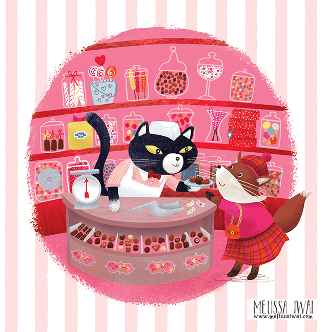 Sugar Cat Melissa Iwai 2016