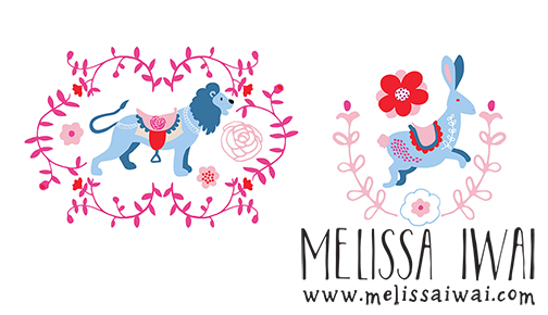 Vintage Carousel Pattern by Melissa Iwai 2016