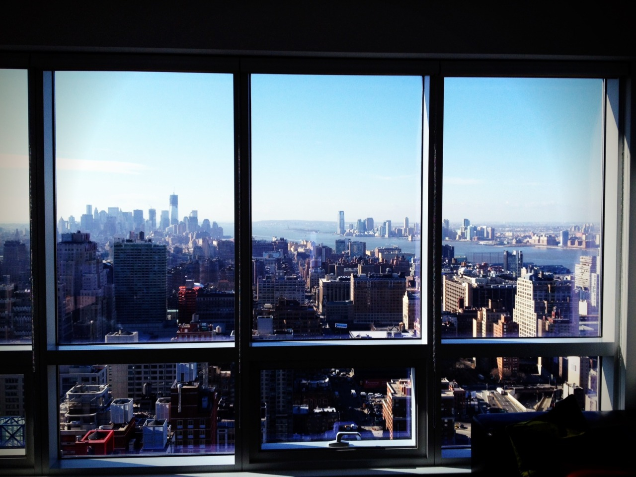 View from the apt I'm staying at this week in NYC. I'm here attending the Q conference… this year with Eugene Peterson. It's been a great time of rest, hearing God's voice, meeting old friends, and recharging for the adventure. God is good.