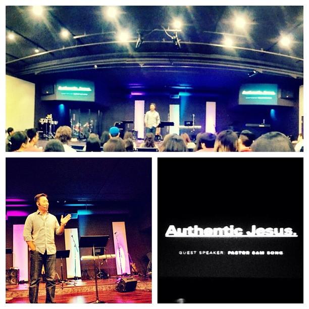 Pastor Sam from Hong Kong rocking' us at Ekko. (Taken with  Instagram )
