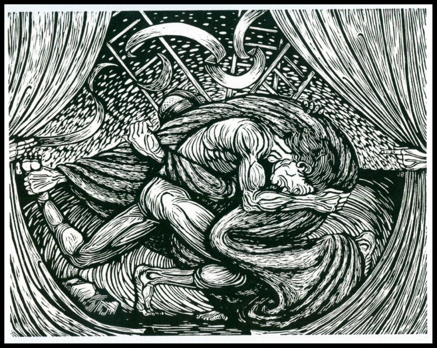 Jacob Wrestling the Angel of God | Jack Baumgartner