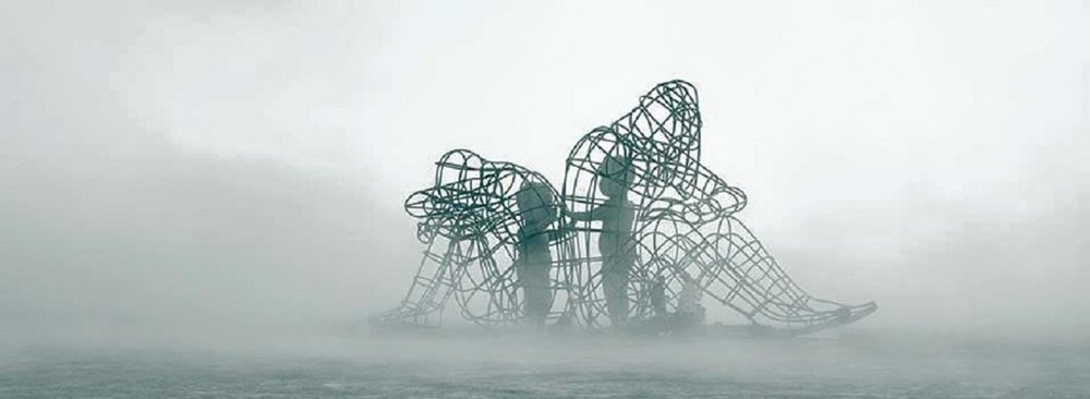 'Love,' by Ukrainian sculptor Alexander Milov