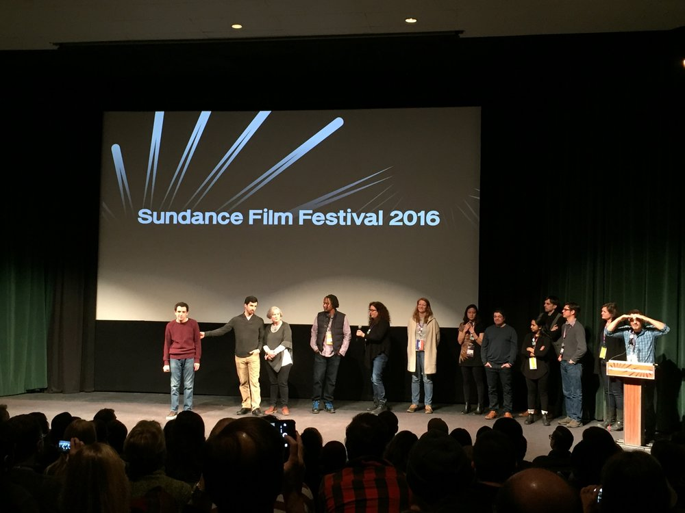 January 2016 | Sundance | The Life Animated - Q&A with the family and the crew.