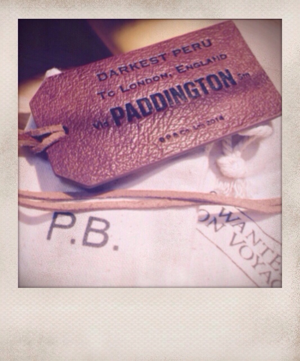Leather swing tag for Gabrielle Designs Paddington Bear (P&Co 2014)