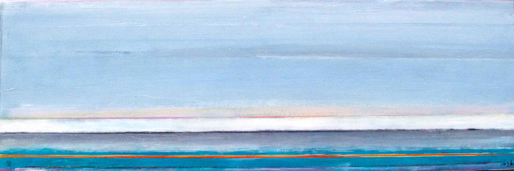 "July to January Shore    8"" x 24""  SOLD"