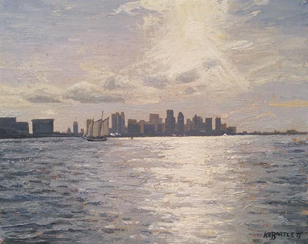 Boston Harbor Glare
