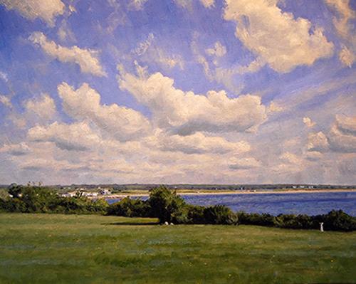 View Toward South Shore