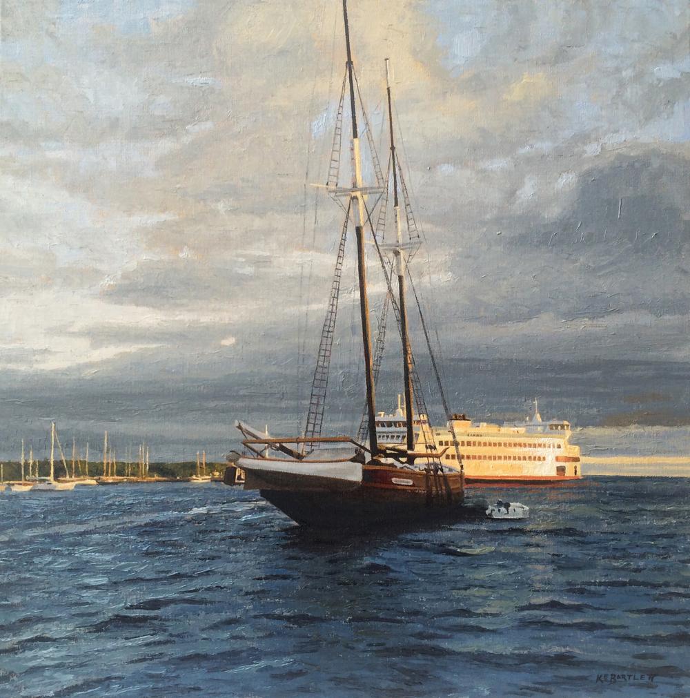 Daybreak on the Harbor
