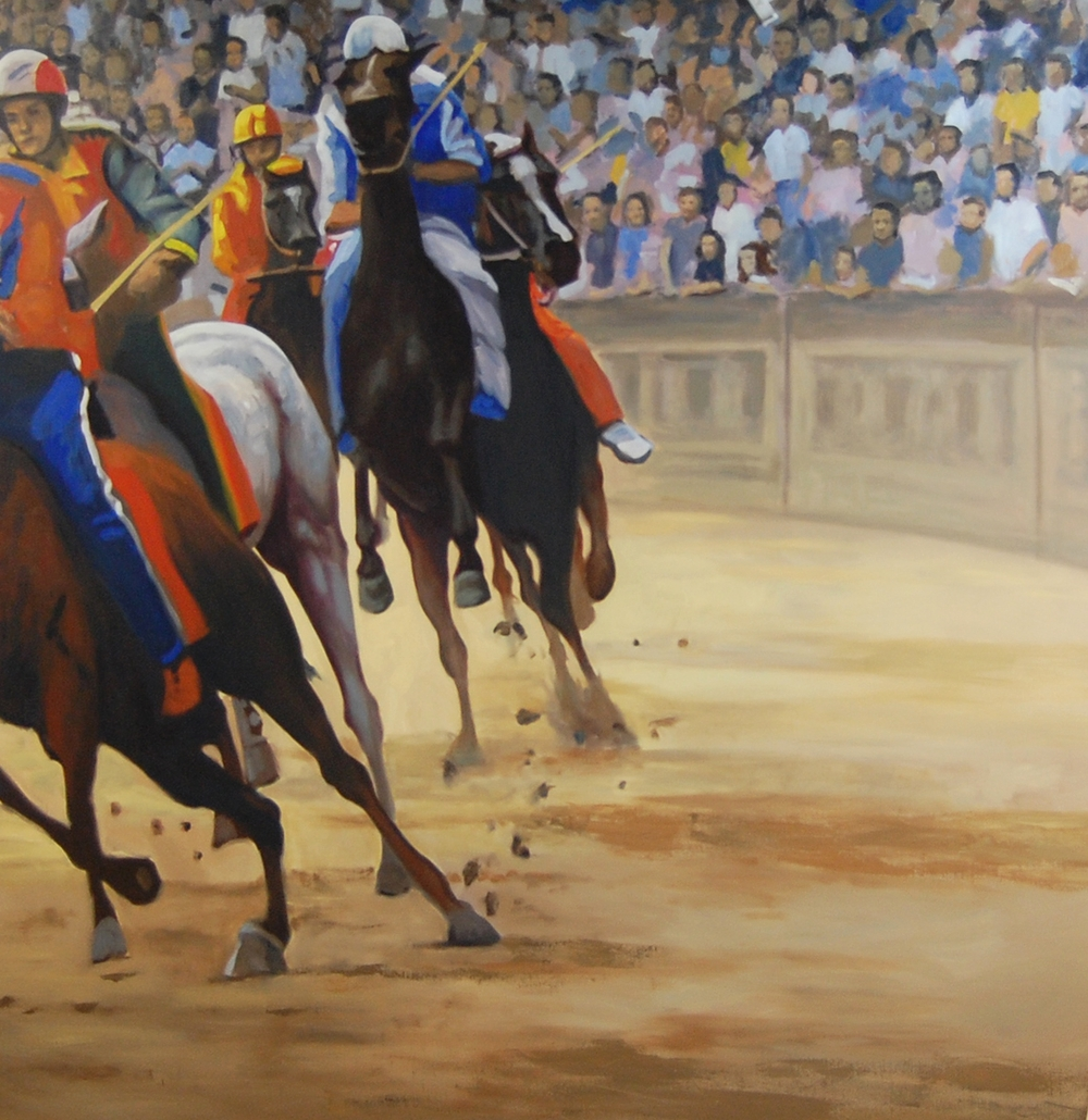 Palio (mural triptych)