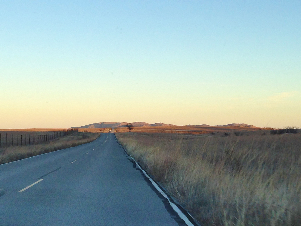 Oklahoma: It's flat except when a mountain suddenly leaps out of it