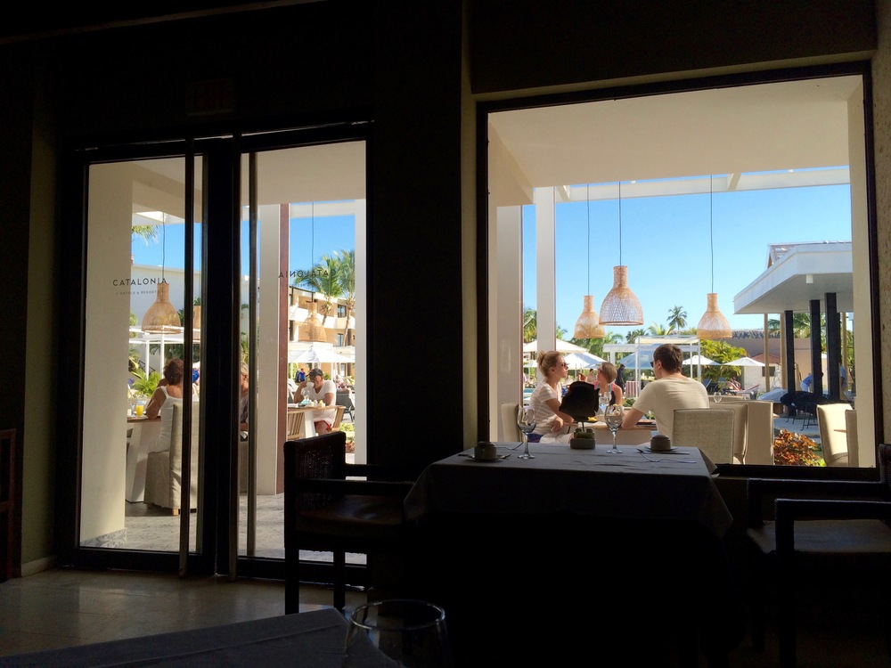 Breakfast at the Thalassa restaurant