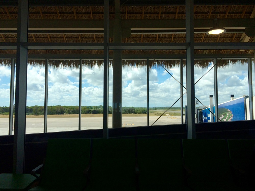 Goodbye Punta Cana and your awesome airport.