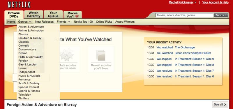 Netflix's Taxonomic Approach