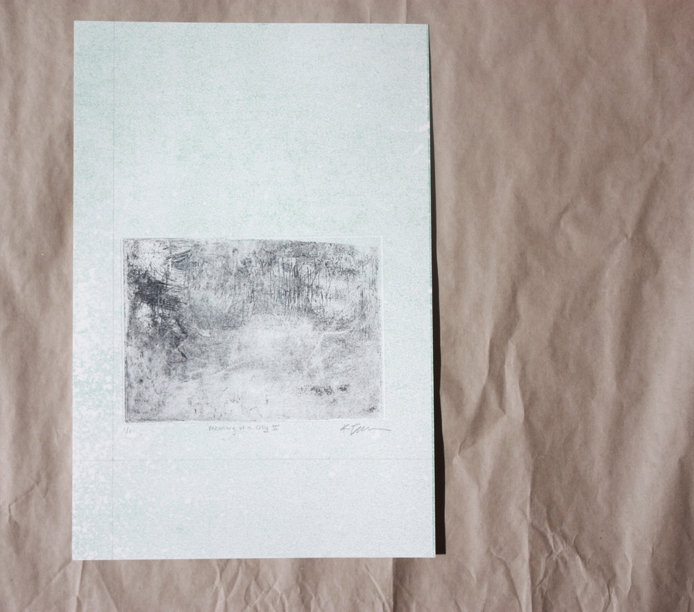 Memory of a City II by Kara Templeton