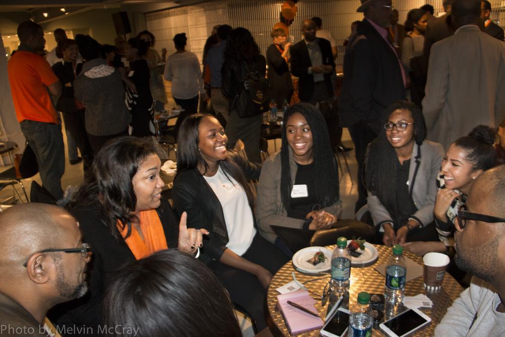 Princeton Alumni and undergraduates meet 3 photo by Melvin McCay-7662.jpg