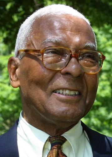 The late New York State Supreme Court Judge Bruce Wright is the subject of a Daily Princetonian article that discusses his being denied admission to Princeton in the 1930s when it was discovered that he was black. See Articles Section. (Photo Courtesy of Dith Pran/New York Times)