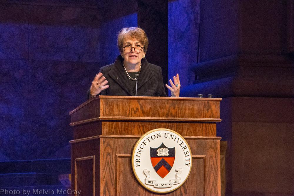Martha Sanwiess opens Princeton and Slavery Symposium photo by Melvin McCray-3.jpg