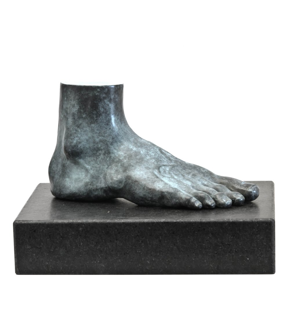 Foot , 2012, Bronze, Limited Edition of 7, 10 x 5 x 4 inches