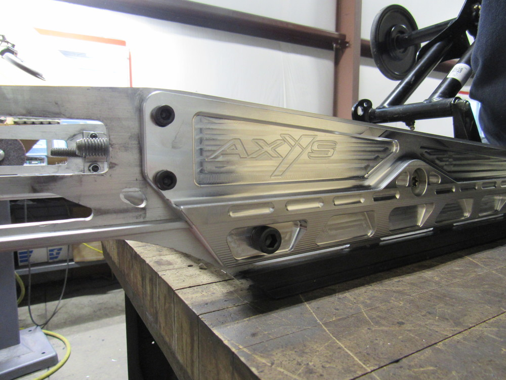 Axys Competition Rail Bace Kit Billet Zollinger Racing