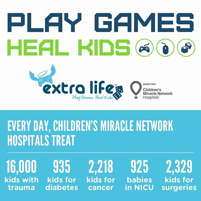 Wow! So excited how close we are to $500 (25% of my goal) ALREADY for @ufhealth Shands Children's Hospital. I'll be playing #videogames for 25 hours straight THIS Saturday to try and raise the rest. Please visit the link in my bio to help me reach my goal by the morning of November 4th. Thank you! 🙏 #charity #extralife #gaming #gamingmarathon #cmn #uf #gogators