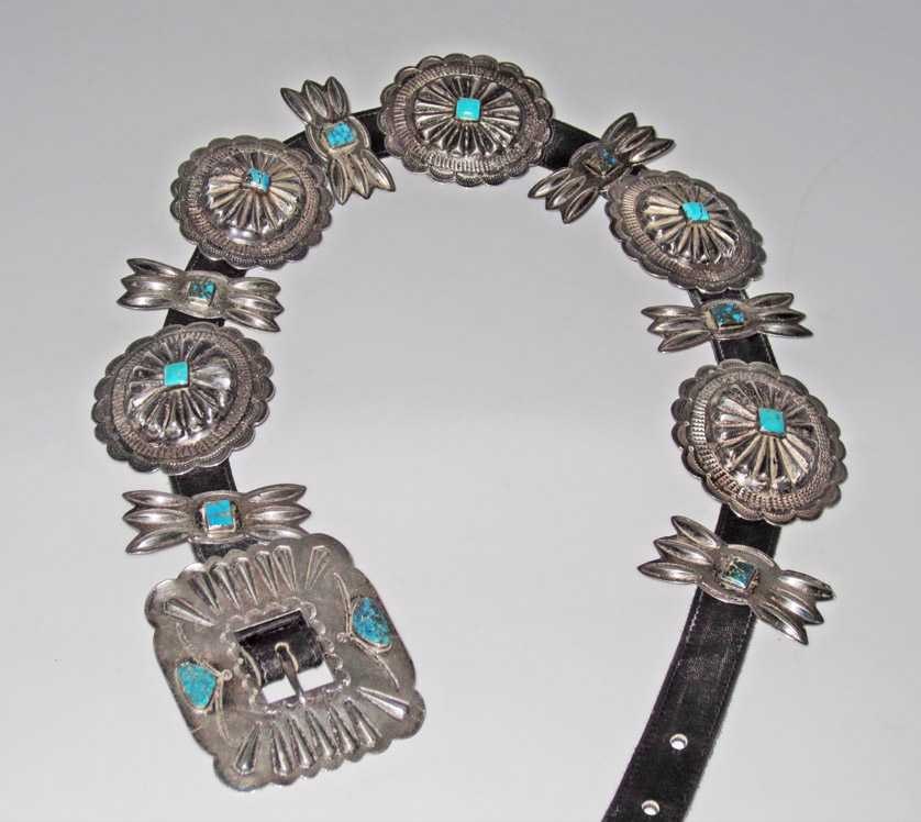 Navajo Dine Concho Belts Marcy Burns American Indian Arts