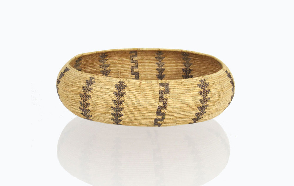 Mono boat-shaped basket   http://www.marcyburns.com/baskets-collection/monache-western-mono-boat-shaped-basket