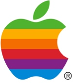 """Apple Computer Logo rainbow"" by Rob Janoff, circa 1987"