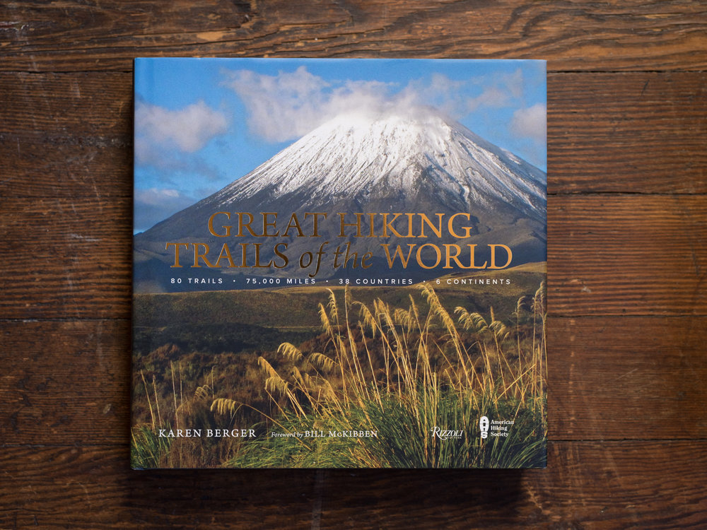 Great Hiking Trails of the World - a coffee-table portal to various hard-earned heavenly views.