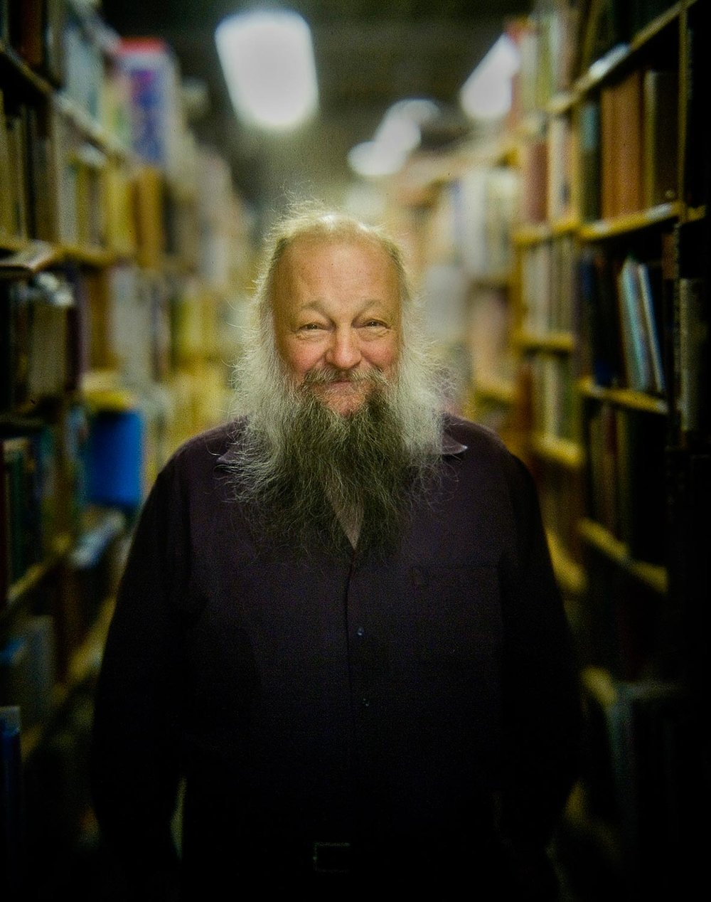 """Salt Lake City bookseller Ken Sanders was one of our first subjects with my hybrid style of portrait camera."" Photo © Mark Maziarz"