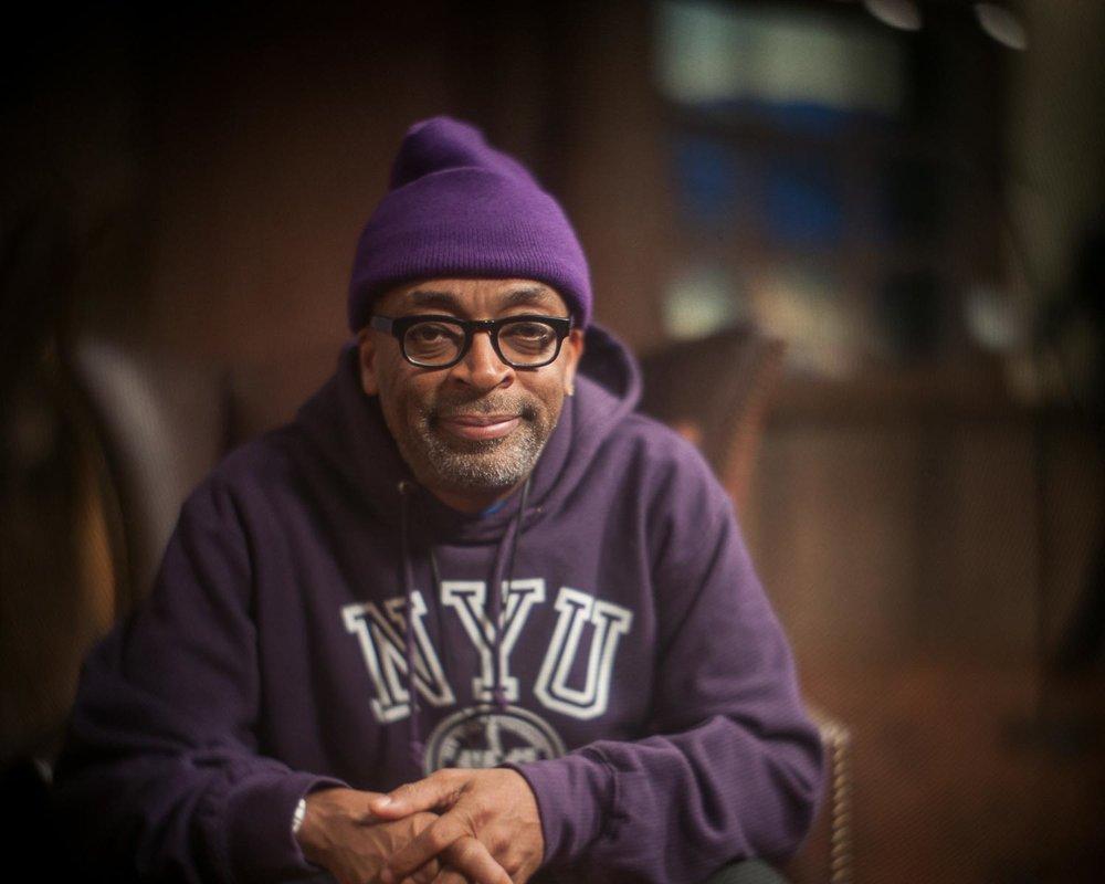 Spike Lee, Producer of Cronies. Photo © Mark Maziarz