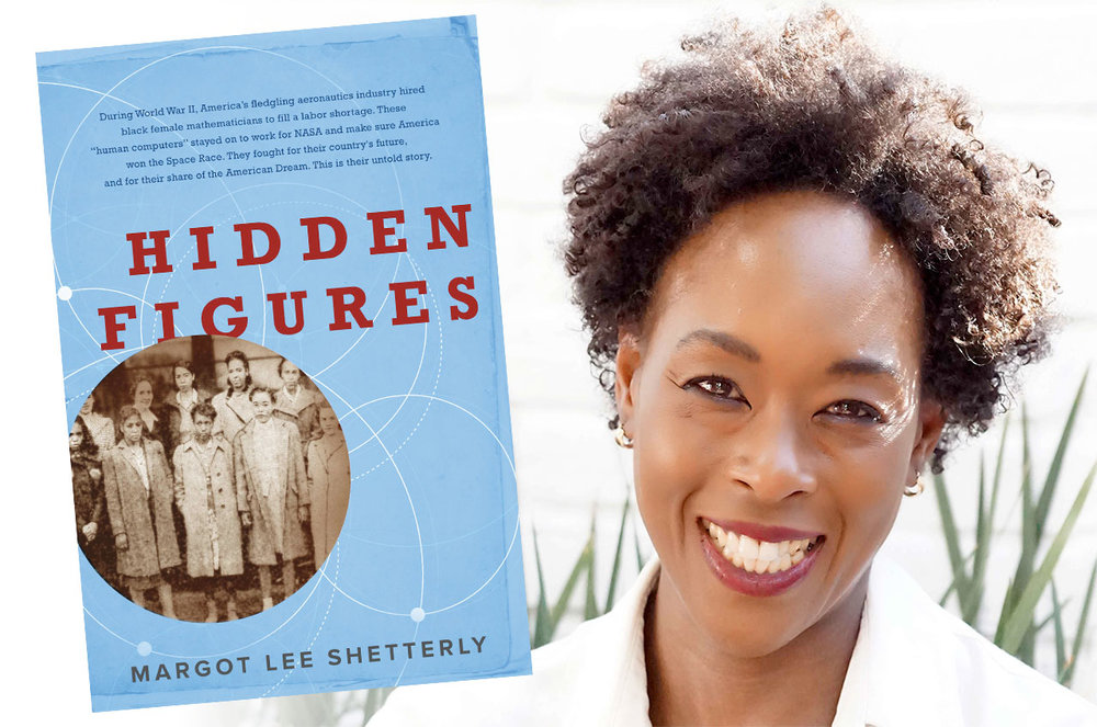 Margot Lee Shetterly details the history of NASA's African-American female mathematicians, or 'computers,' in her book, Hidden Figures. (William Morrow/Aran Shetterly)