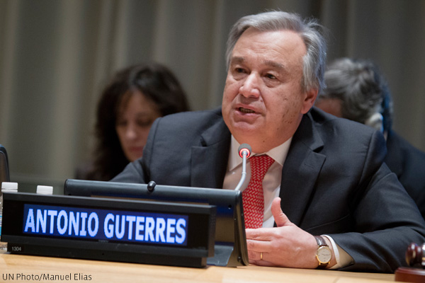 Antonio Guterres (UN Photo/Manuel Elias)