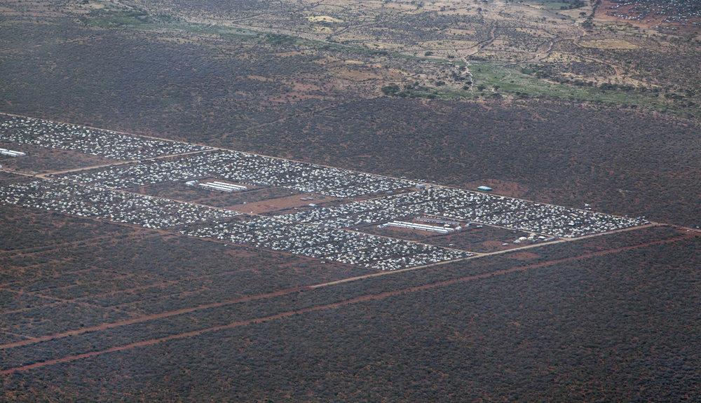 2012 Aerial View of Dadaab, Northern Kenya (Ben Curtis/AP)