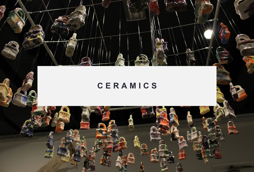 Click here for more information about the ceramics program.